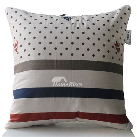 modern pillows for couch modern striped cotton couch square gray throw pillows