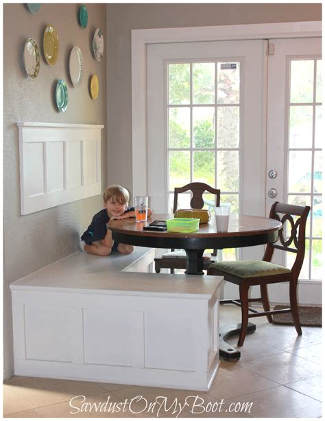 free standing kitchen banquette ana white board batten banquette diy projects