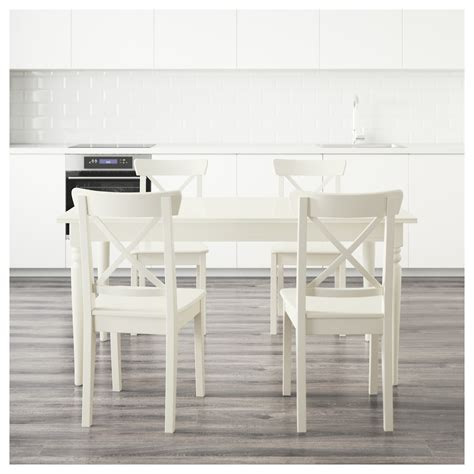 ikea ingatorp ingatorp ingolf table and 4 chairs white 155 cm ikea