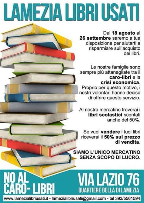 dove portare libri scolastici usati lamezia cz ritorna il mercatino dei libri usati