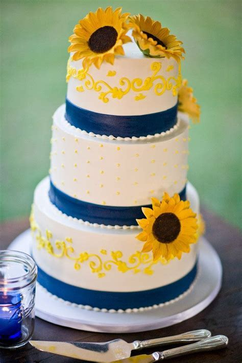 40 best images about Sunflower And Navy Blue Wedding on