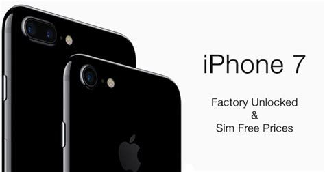 unlocked sim free iphone 7 plus price in uk us india other countries list redmond pie