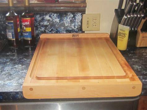 boos reversible maple countertop board giveaway arv