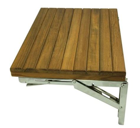 fold wall bench teak wood wall mount fold bench sunzu