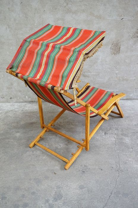 Ottoman Traduction by Manufacturer Unknown Vintage Chair With Ottoman