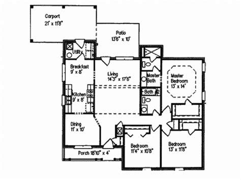 One Story Country House Plans Smalltowndjs Com Country House Plans 1 Story