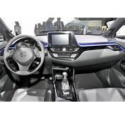 Toyota C HR Interior Dashboard