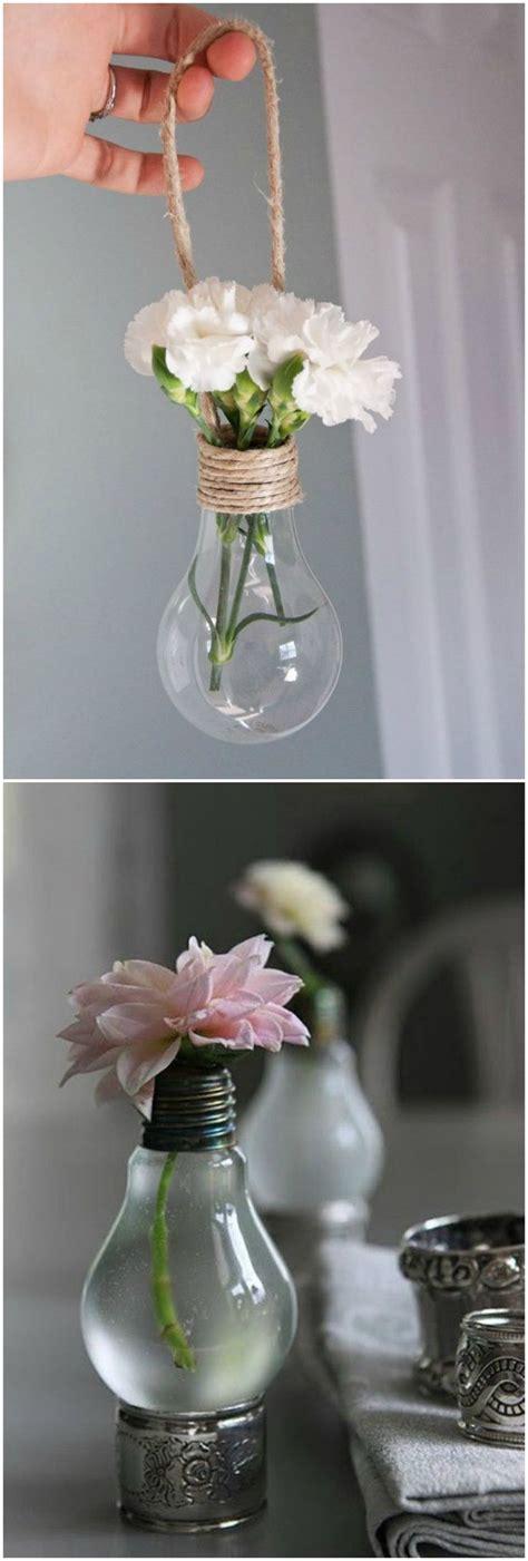 lightbulb flower pot tutorial danielle diy bombillas recicladas visto en www ecodecomobiliario com