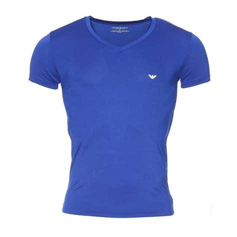 Du Adela Vneck Blouse Fit L emporio armani shirt v neck blue slim fit