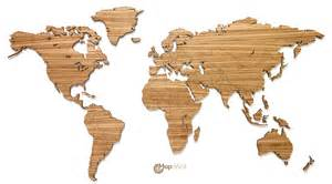 Wooden World Map by Mapawall Com Wooden World Map Wall Decoration