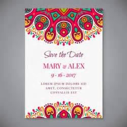 wedding invitations freepik mandala wedding invitation vector free
