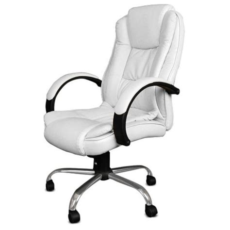 White Computer Chairs by Leather Office Chairs White Best Computer Chairs For
