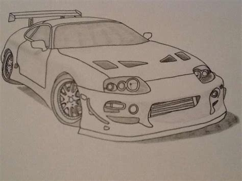 toyota supra drawing 16 best images about supra drawings on pinterest