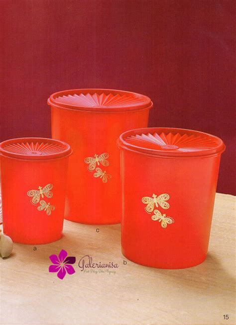 Tupperware Butterfly Canister butterfly canister tupperware indonesia promo katalog promo