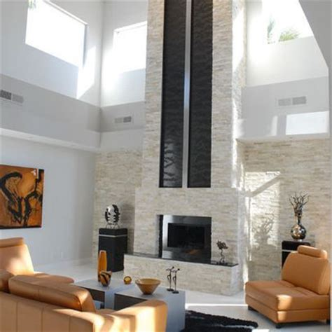 two story fireplace modern two story fireplace search remodeling