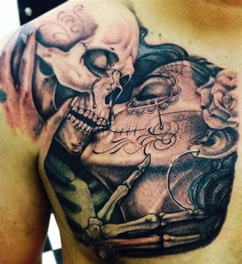 tattoo nightmares day of the dead sugar skull til death do us part tattoo google search ink