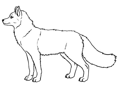 husky lineart free by kunzai on deviantart