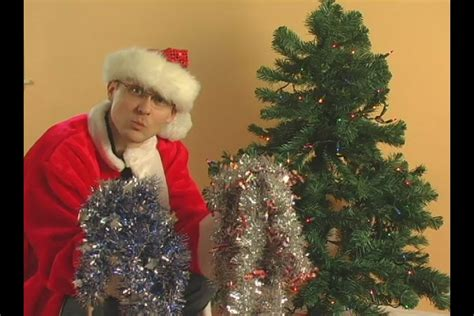 video how to add a garland to a christmas tree ehow