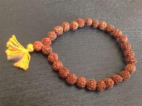 rudraksh rudraksha bead bracelet wrist band wristband mala
