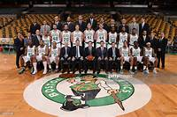 The Boston Celtics Pose For Their 2014  2015 Team Photo On February