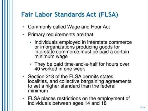 Flsa Section 14 C by Ppt The Organizational Reward System Powerpoint