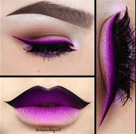 Lipstick Ombre Purple purple ombre makeup my style