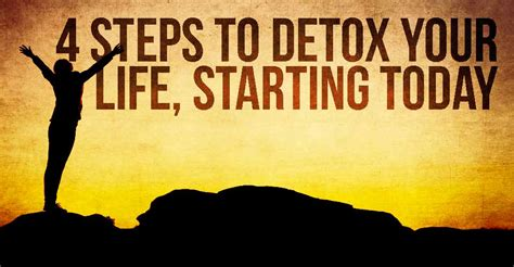 Detoxing Your Thought by 4 Steps To Detox Your Starting Today I