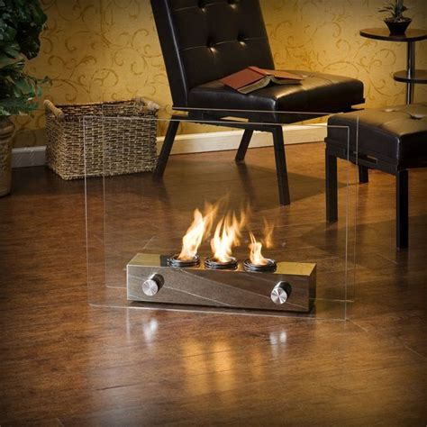 Open Fireplace Der by Portable Indoor Outdoor Gel Fireplace