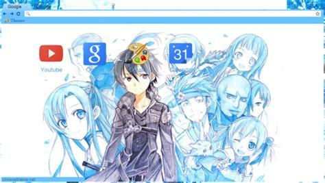 theme chrome sword art online sword art online theme chrome theme themebeta