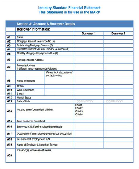 28 Statement Formats Sles Sle Templates Victim Impact Statement Template Qld