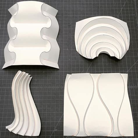 Curved Origami - sles for teaching origami curved pleats