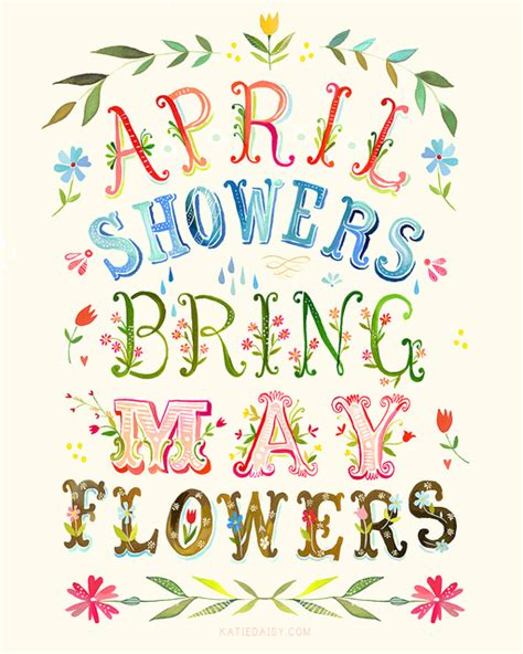 April Showers Bring May Flowers Poem by Monthly Updates For April Mrs Flynn Support