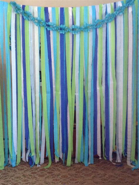 streamer curtains streamer backdrop for a photo booth lawson and cares