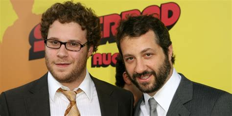 judd apatow the critic seth rogen and judd apatow slam critic ann hornaday