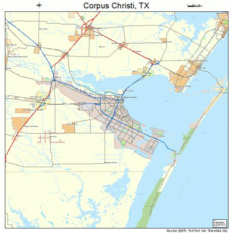 texas map corpus christi corpus christi texas map 4817000