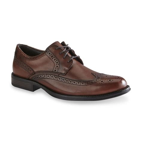 dockers oxford shoes dockers s moritz leather dresswingtip oxford brown