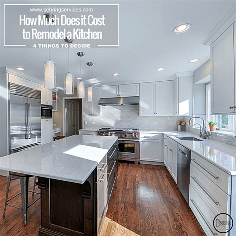 cost to remodel kitchen how much does it cost to remodel a kitchen in naperville sebring services