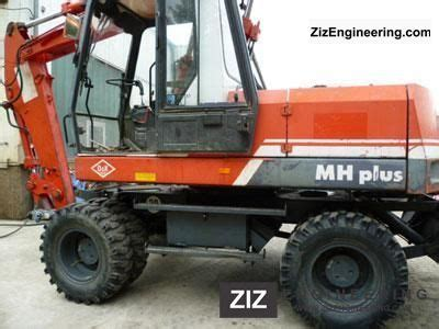 o k mh 4 plus 1996 mobile digger construction equipment
