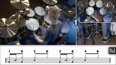 drum tutorial ghost beginner ghost notes drum lessons youtube