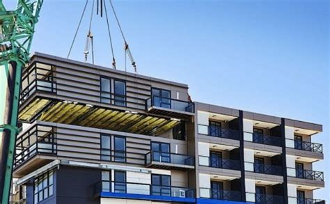 prefab construction speedy prefab how a 9 story apartment was built in 5 days