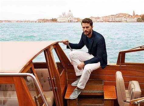jamie dornan yacht irish actor jamie dornan embraces christian grey for fifty