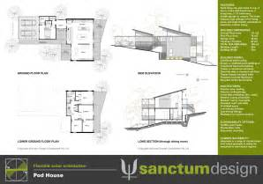 Pod Floor Plans Sanctum Design Environmentally Responsible Home Design