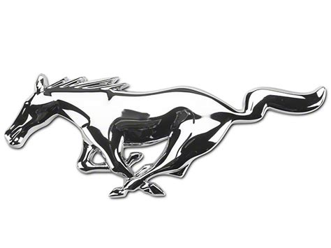 Mustang Auto Zeichen by Ford Mustang Running Pony Grille Emblem 5r3z8a224aa 05 09