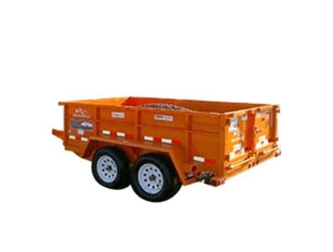 dump trailer dump trailer  home depot rental