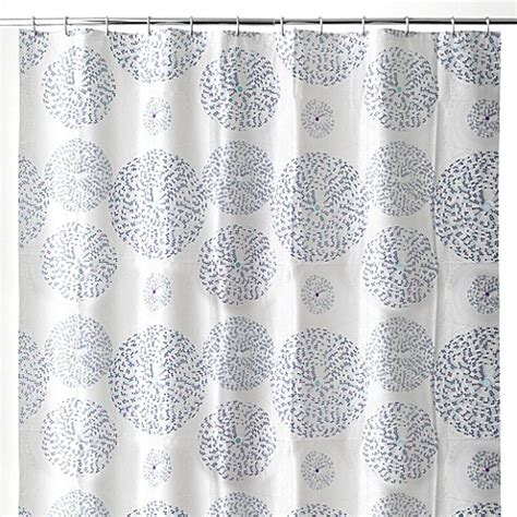 white and blue shower curtain mozaik 70 inch x 72 inch shower curtain in blue bed bath
