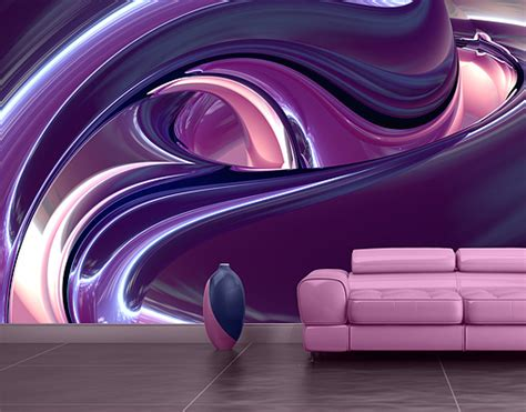 purple wall mural photo wall mural circles in purple wallpaper wall wall
