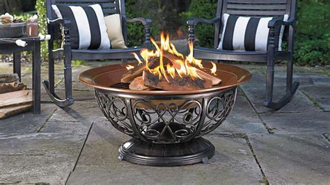 firepit on wheels arrange your decoration with a coleman pit
