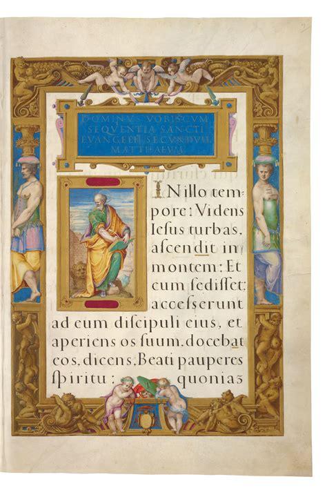 cornici medievali il messale della cappella sistina folia