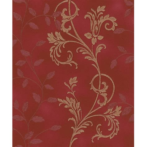 leaf pattern motif rasch diamond dust flower floral leaf motif pattern