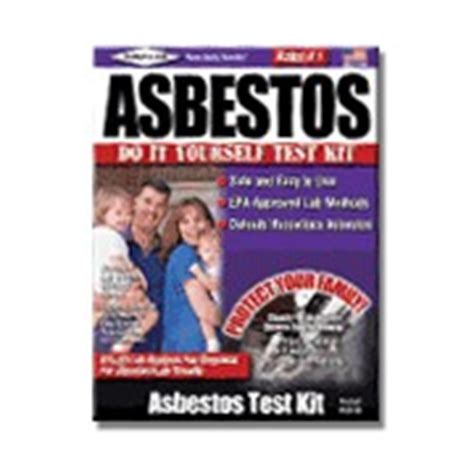 asbestos test kits for the homeowner